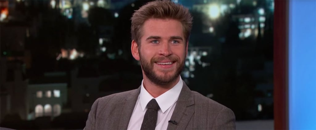 Liam Hemsworth Carried Jennifer Lawrence's Purse on the Great Wall of China