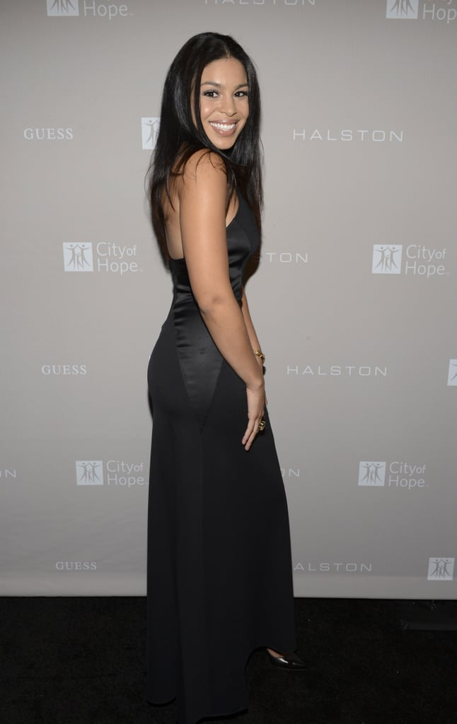 Jordin Sparks attended the City of Hope charity's gala in LA.