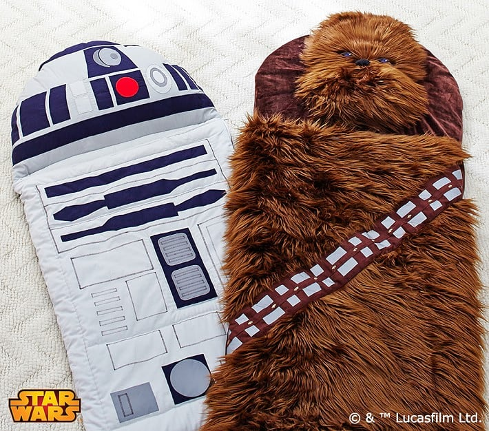 For 3-Year-Olds: Star Wars Sleeping Bags