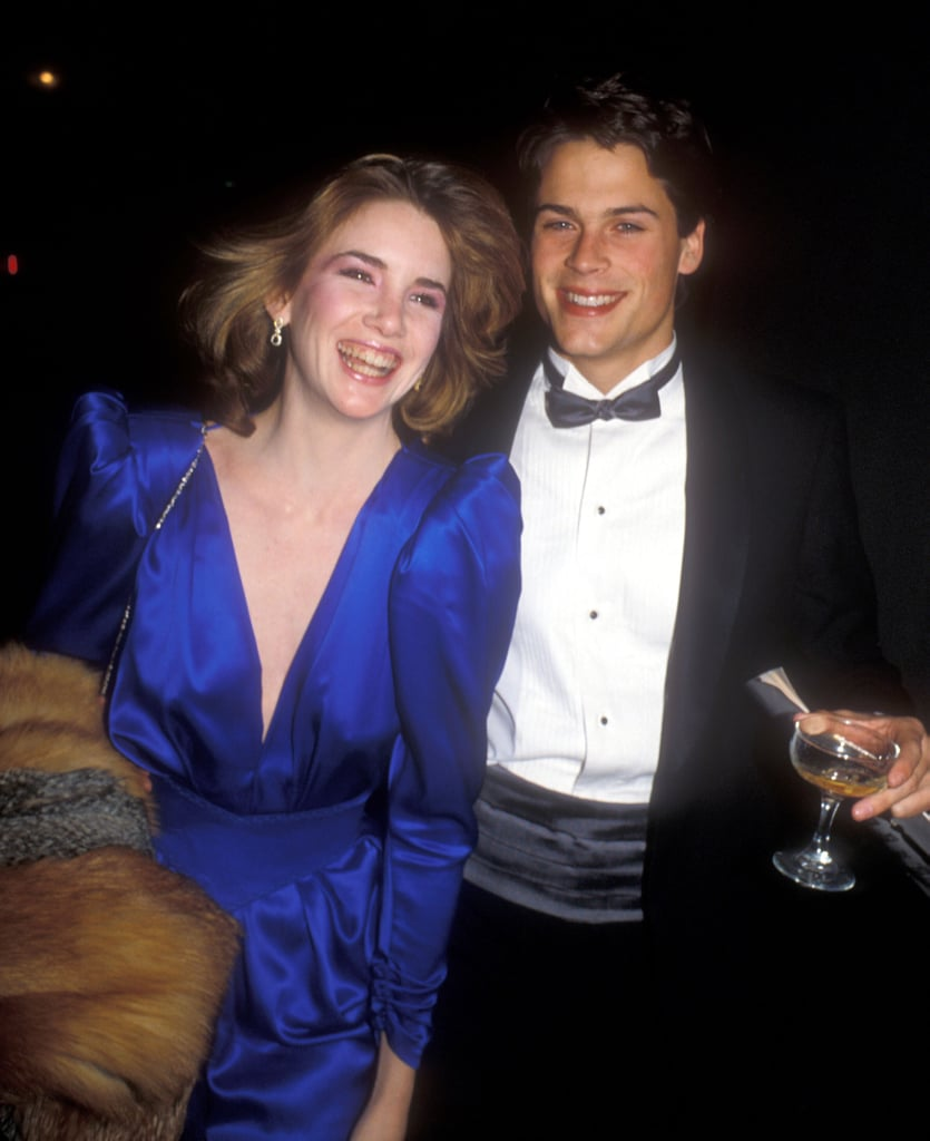 Melissa Gilbert and Rob Lowe