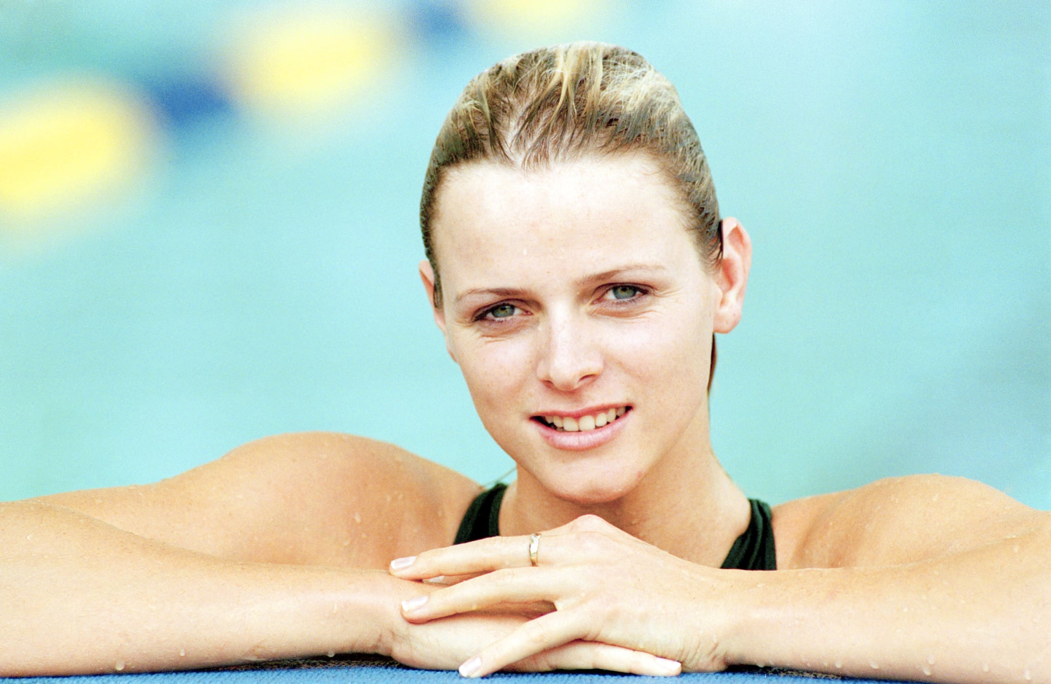 The Olympic swimmer posed at the Commonwealth Games in 1998, a couple of years before she met her prince.
