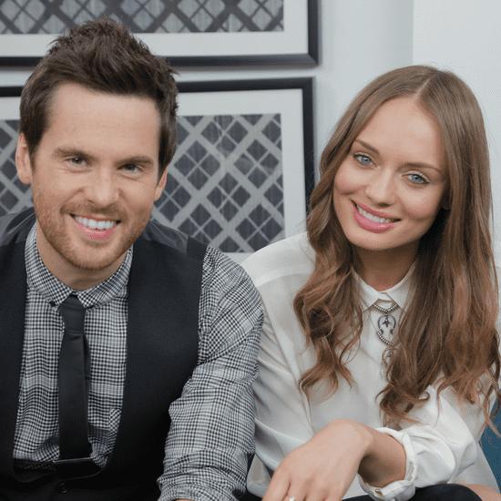 Laura Haddock and Tom Riley on Da Vinci's Demons Season Two