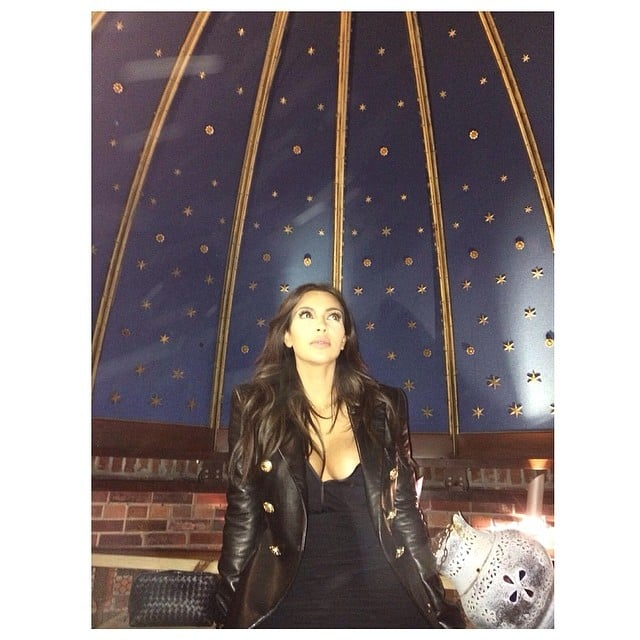 "Kim Kardashian traded North West for the ""#NorthStar."" Source: Instagram user kimkardashian"