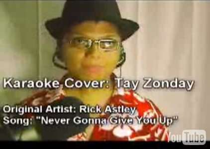"Tay Zonday Covers Rick Astley's ""Never Gonna Give You Up"""