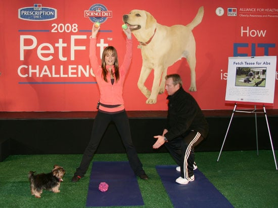 Molly Sims and Poupette Get Fit . . . and You Can, Too!