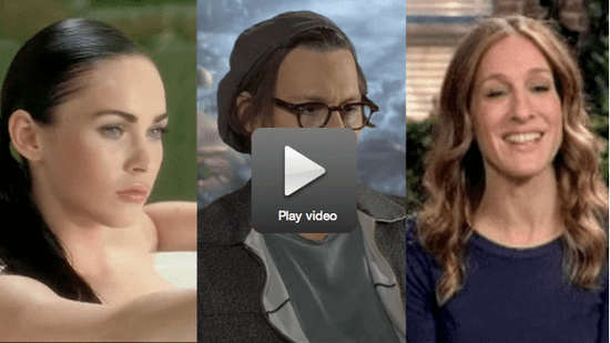 Megan Fox in Her Underwear, Johnny's Newest Mad Hatter Clip, and John Mayer Cries