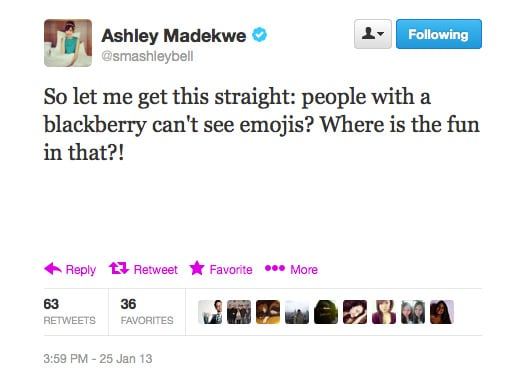 It's true, Ashley, and there's no fun in it!