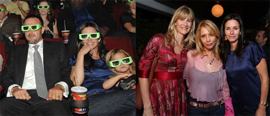 Courteney Cox, David Arquette and Family at the Premiere of The Butler's In Love