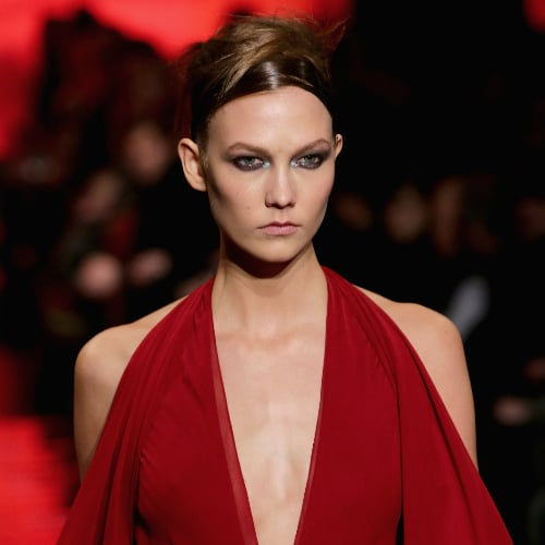 "Donna Karan Presents the Most Gorgeous Version of ""Hat Hair"" Ever"