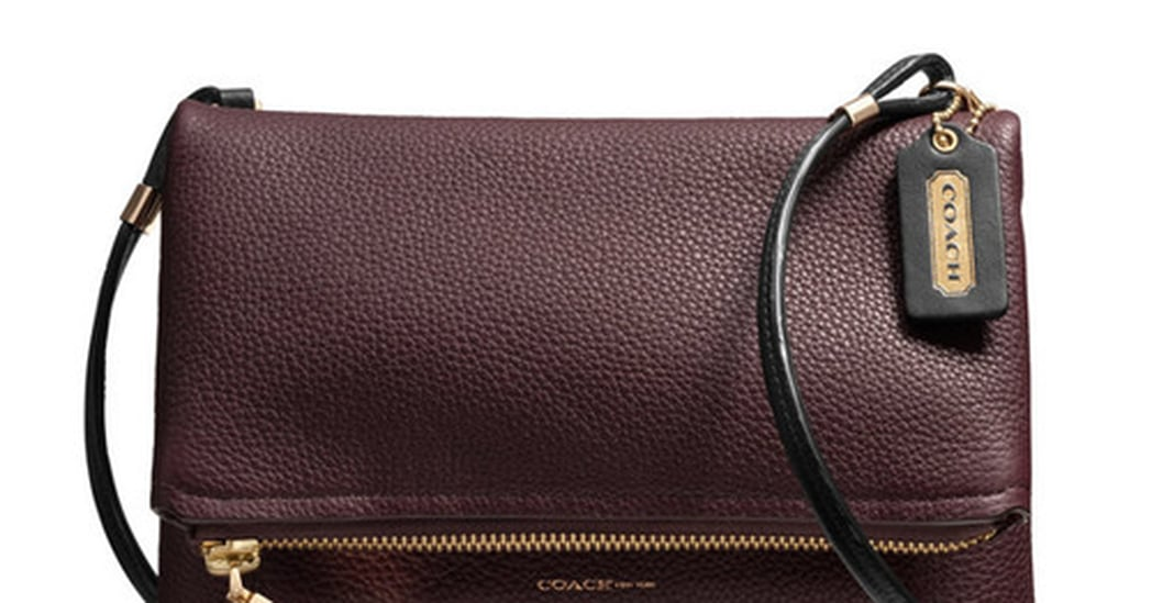 Coach Urbane Crossbody Bag in Pebbled Leather