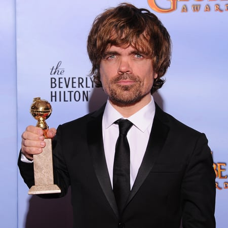 Peter Dinklage Golden Globes Press Room (Video)