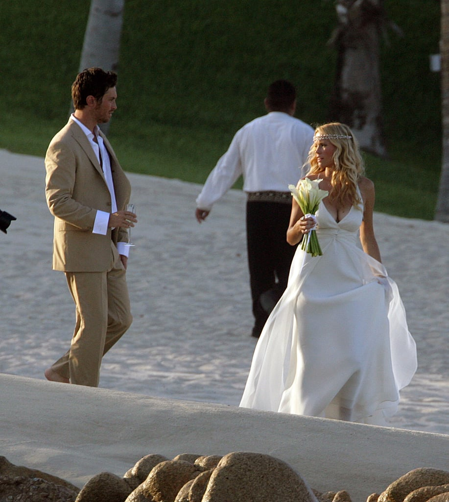 Oliver Hudson and Erinn Bartlett chose Mexico for their June 2006 nuptials.