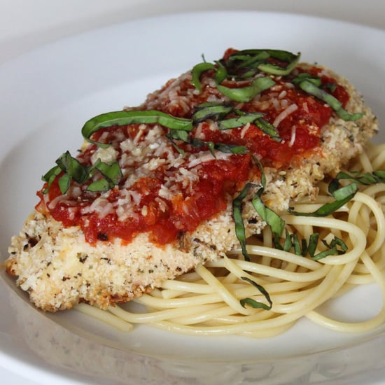 Healthy Low Fat Chicken Parmesan Lunch And Dinner Recipe