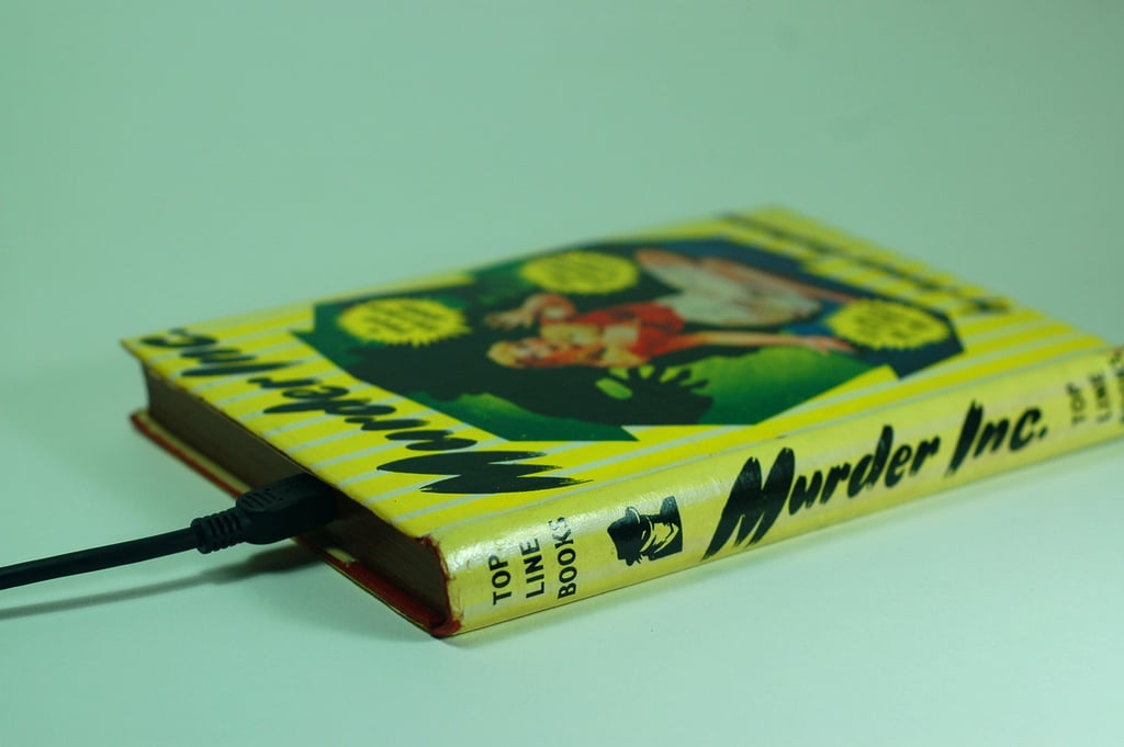 Classic pulp fiction is on display in Murder Inc. ($189).