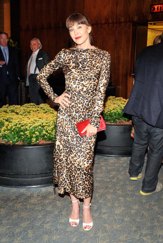 Tamara Mellon launched her book, In My Shoes, in a wild print.