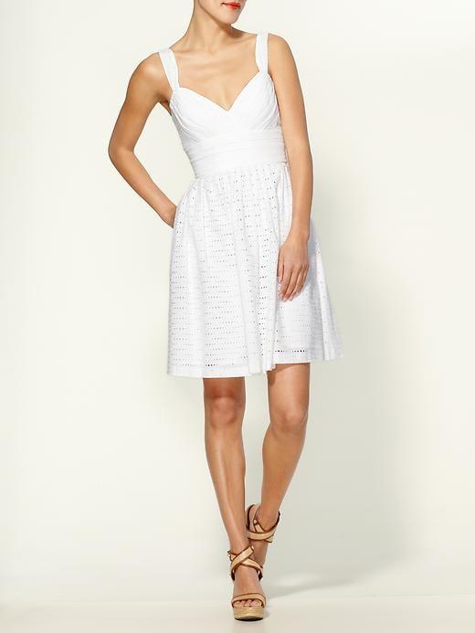 Shoshanna Giselle Eyelet Dress ($340)