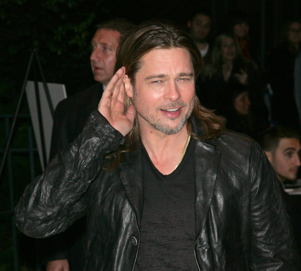 Brad Pitt stepped out for the Killing Them Softly screening in NYC.