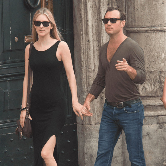 Jude Law Girlfriend PDA in Rome Pictures