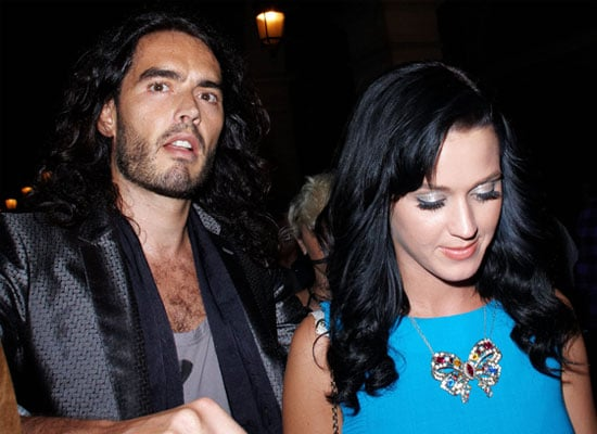 First Pictures of Russell Brand and Katy Perry, Russell Brand and Katy Perry at Paris Fashion Week Pictures