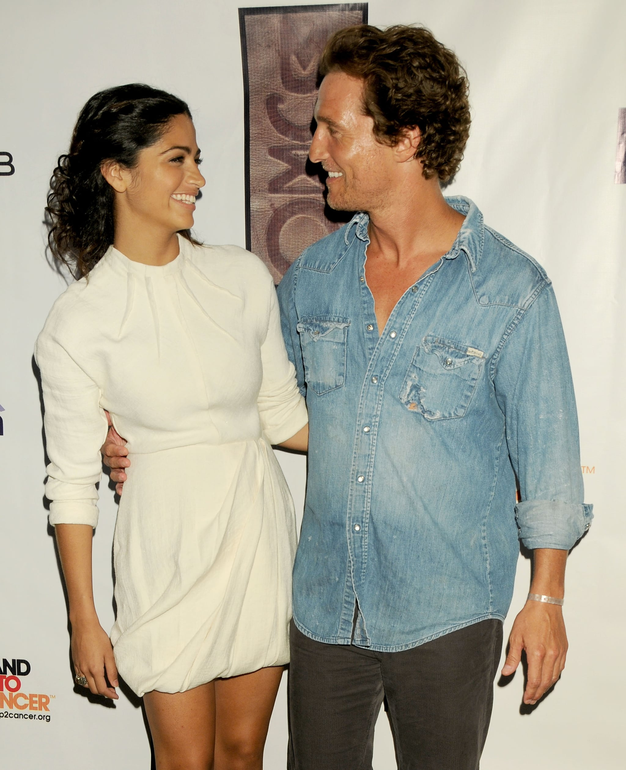 Matthew and Camila only had eyes for each other at an event in LA in August 2008.