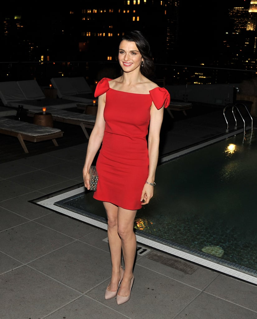 Rachel Weisz decked out for a premiere.