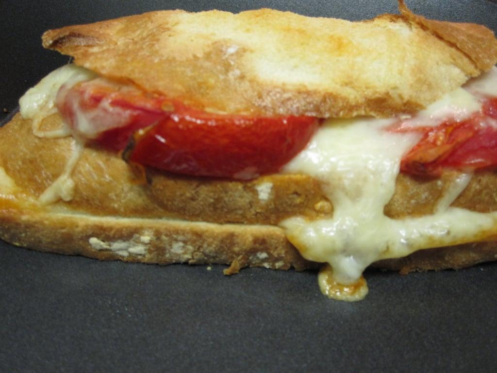 Triple-Decker Baked Italian Cheese Sandwiches