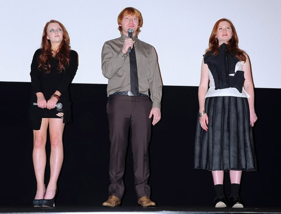 Pictures of Rupert Grint, Bonnie Wright, Evanna Lynch at Japan Harry Potter and the Deathly Hallows Premiere