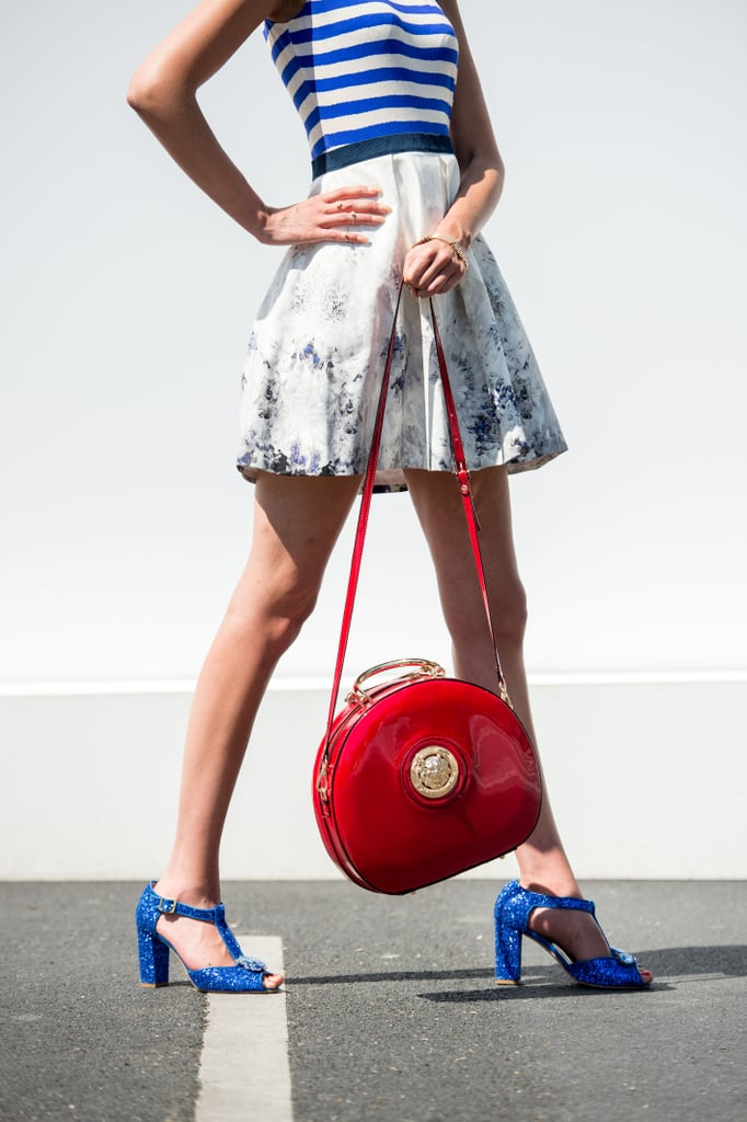Red, white, and blue never looked so stylish.