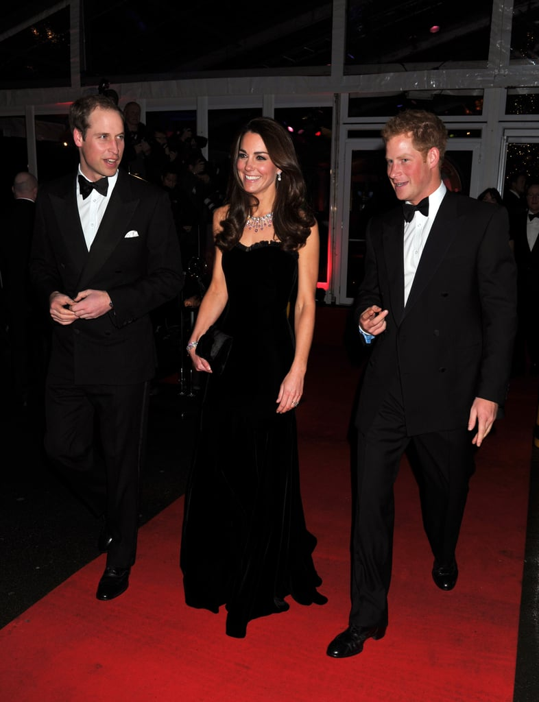 The Royal Couple at the Sun Military Awards