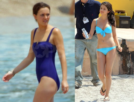 Pictures of Selena Gomez in a Bikini on the Set of Monte Carlo 2010-06-25 16:30:00