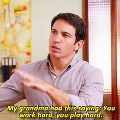 When He Shares His Grandma's Life Advice