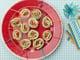 Roasted Turkey and Basil Cream Cheese Pinwheel Sandwiches