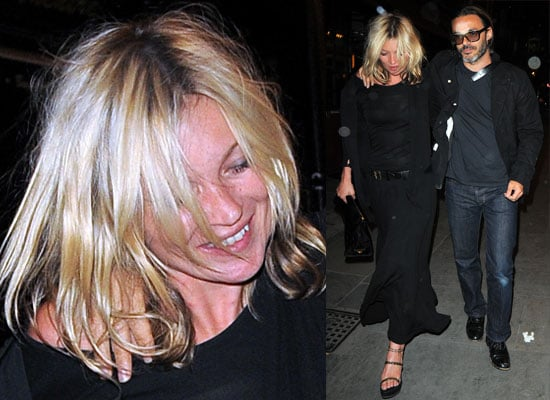 Photos of Kate Moss Dining Out With Her Ex Photographer Mario Sorrenti, Jamie Hince Doesn't Want Her To Sing With The Kills