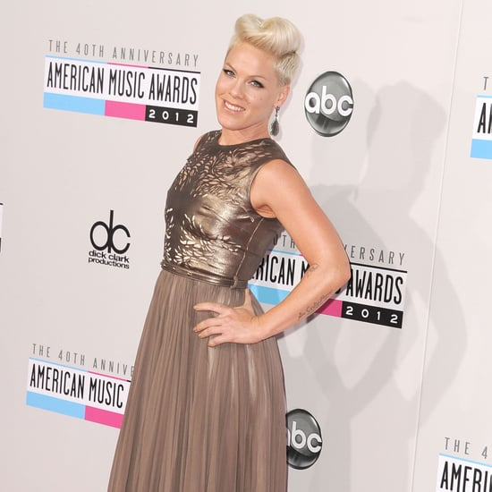 Pink and Carey Hart American Music Awards Pictures