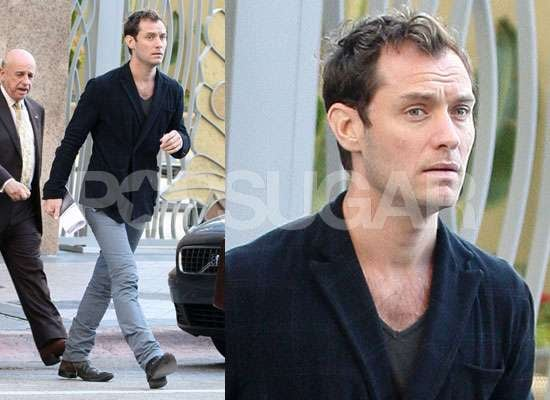 Photos of Jude Law Meeting Baby Sophia For the First Time in Miami With Samantha Burke Pictures