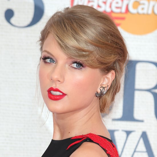 Taylor Swift's Hair and Makeup at the Brit Awards 2015