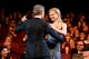 Nicole Kidman shared a moment with French actor Lambert Wilson at the opening ceremony on Wednesday.
