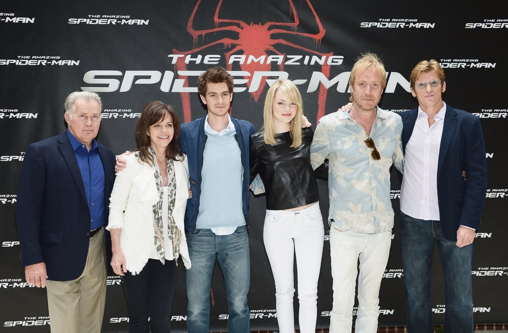 Emma Stone and Andrew Garfield Unite in Gotham For Spider-Man