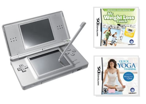 Win a Nintendo DS Lite and Workout Games on geeksugar!