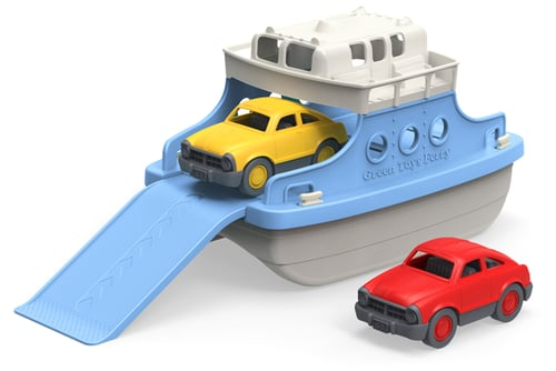 Green Toys' Ferry Boat ($25) makes for double-decker bath-time fun!