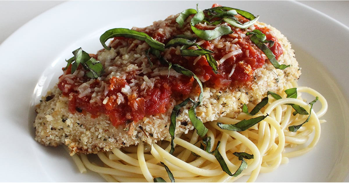 Healthy Low Fat Chicken Parmesan Lunch And Dinner Recipe ...
