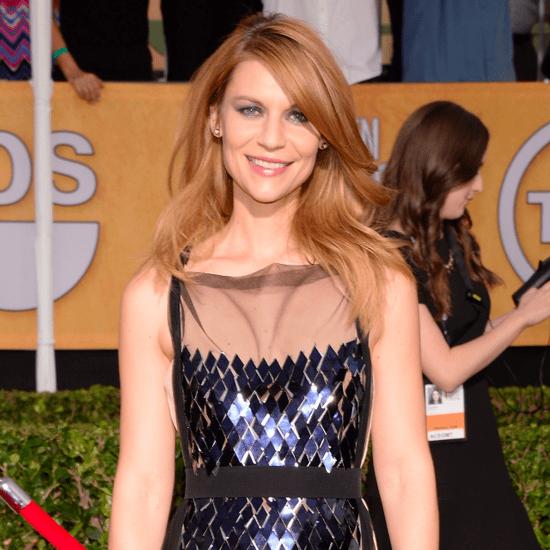 Claire Danes's Hair and Makeup at SAG Awards 2014