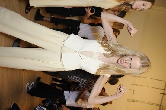 Spring 2012 Backstage Pictures: Calvin Klein, Ralph Lauren, L'Wren Scott