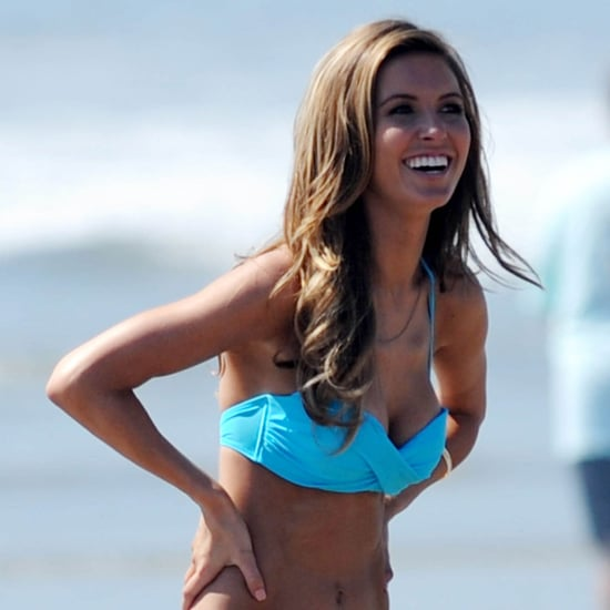 Audrina Patridge Bikini Pictures on the Beach