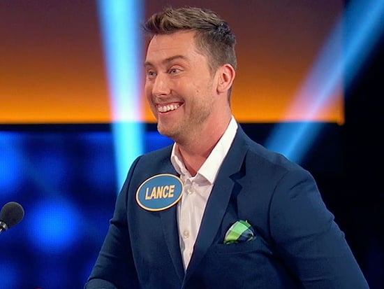WATCH: Lance Bass Takes on a Starstruck Kellie Pickler on Celebrity Family Feud