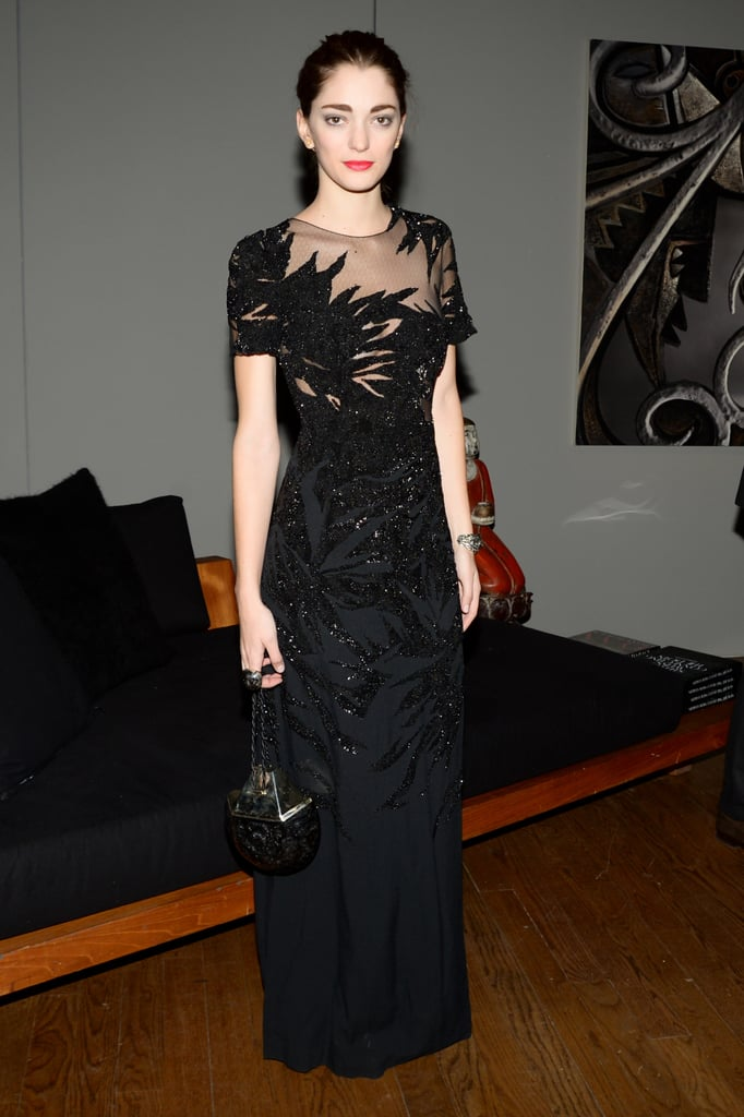 Sofia Sanchez Barrenechea at the 18th annual ACRIA holiday dinner in New York.