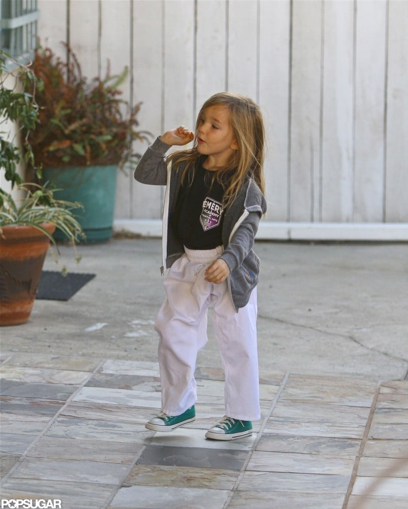 Seraphina Affleck left karate.