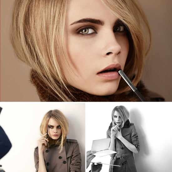 Cara Delevingne in Burberry Beauty's Autumn 2012 Collection