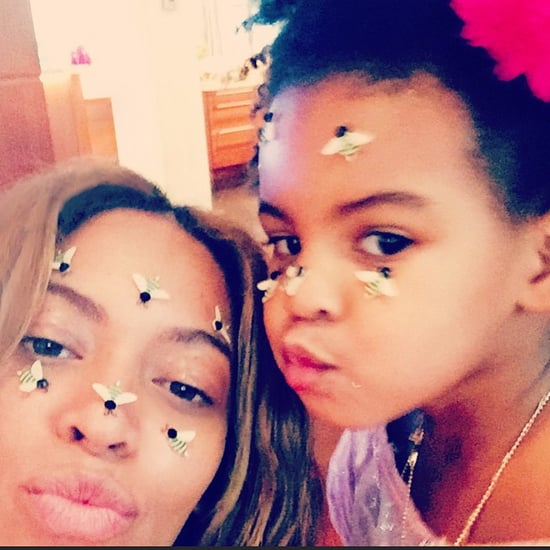Beyonce and Blue Ivy's Valentine's Day Selfie