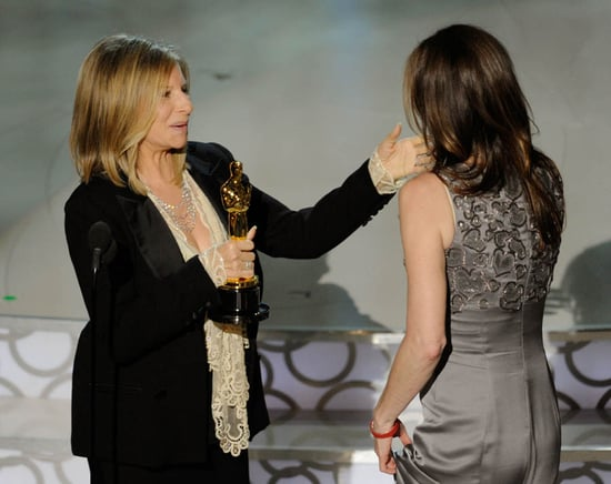 Cracker Barrel Special Reserve Perfect Pairings: Barbra Streisand presents to Kathryn Bigelow in 2010